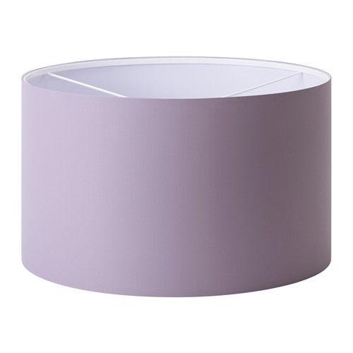 IKEA - RISMON, Schirm, Der Stoffschirm sorgt für gestreutes, dekoratives Licht.