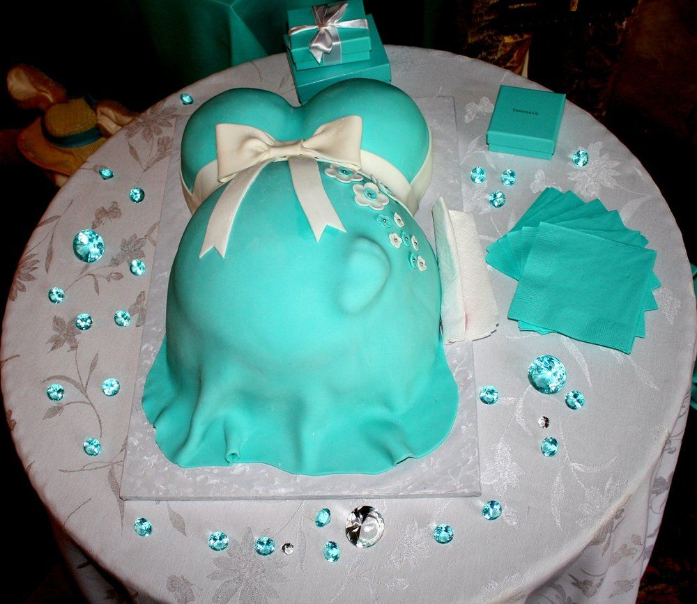 for baby showers tiffany blue baby shower cake tiffany baby shower