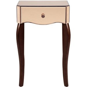 Laura Ashley Arielle Rose Mirror Side Table