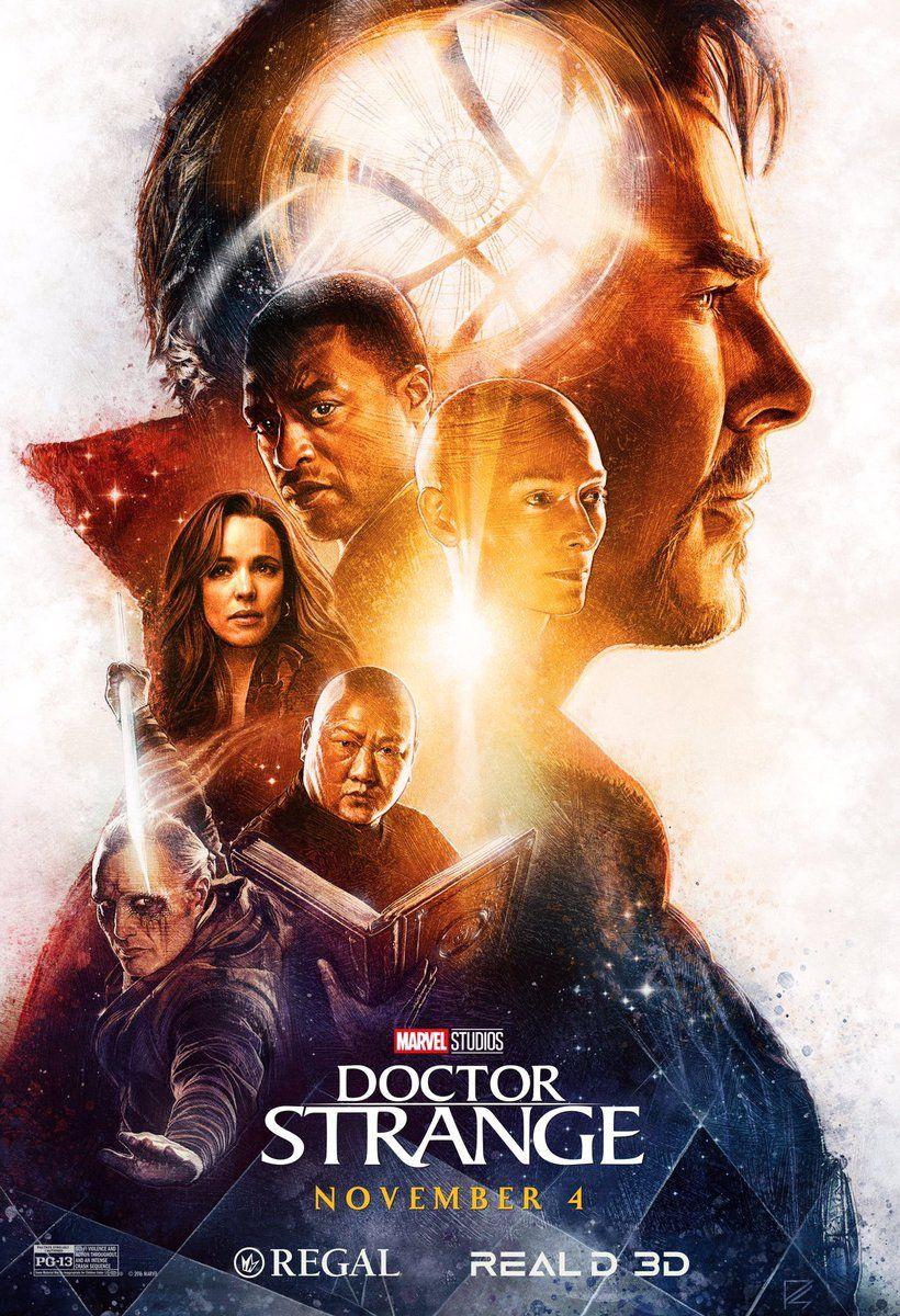 """Doctor Strange Movie Poster Print 22x34/"""""""