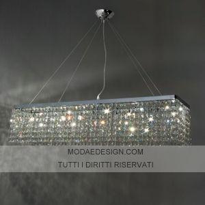 Lampadari cristallo moderni | LAMPADARI CRISTALLO | lampadari ...