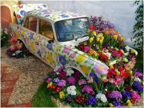 ausgefallene gartendeko - 15 reizende ideen für ihre, Garten und erstellen