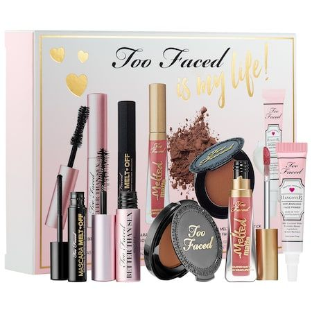 too faced is my life set  too faced  sephora  makeup