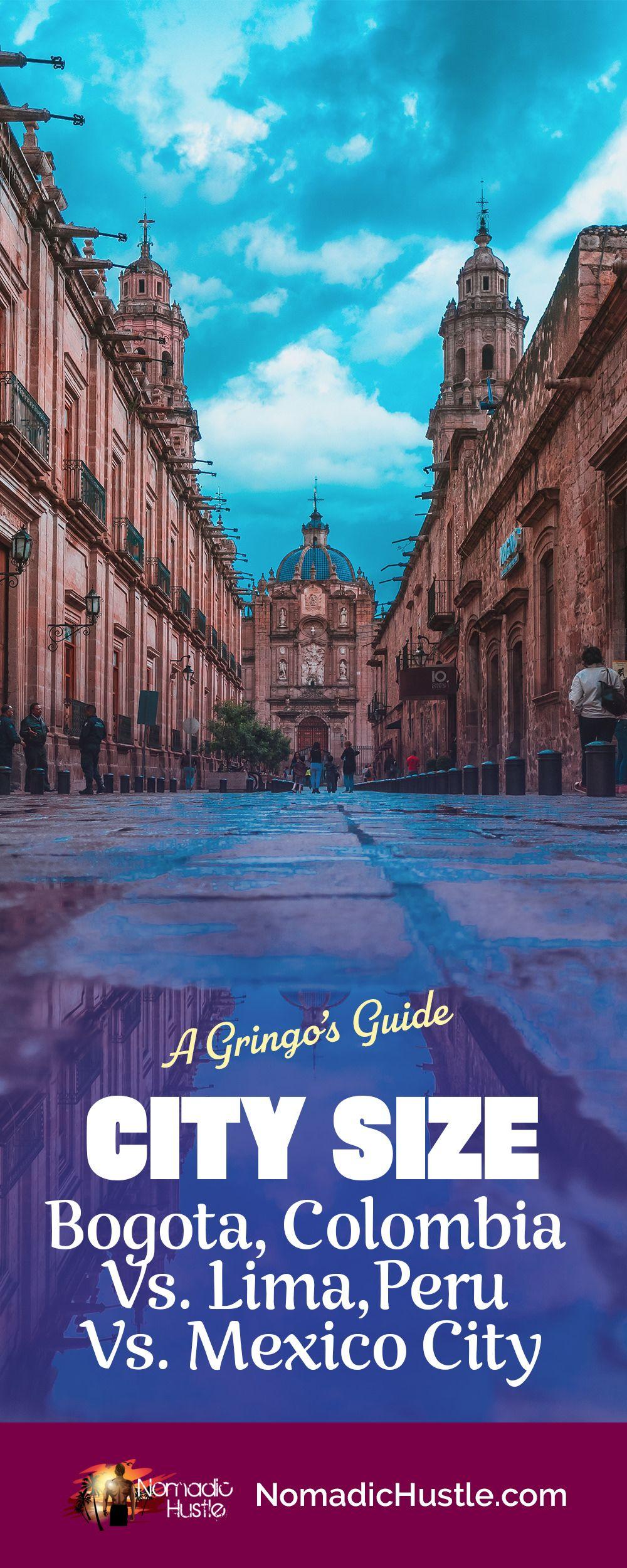 Bogota, Colombia Vs. Lima, Peru Vs. Mexico City #latinamericatravel