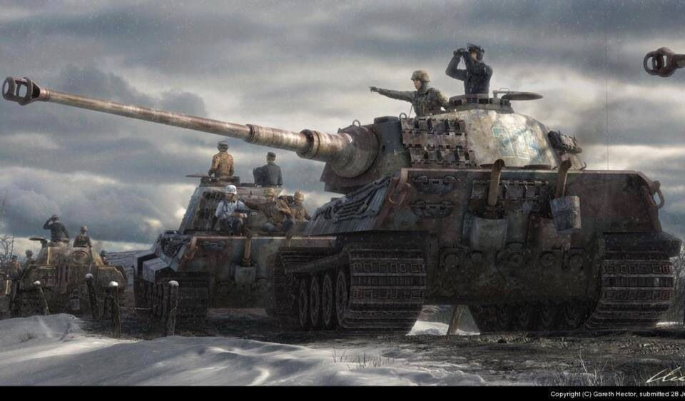 King Tiger Tank War Art 191 Pinterest Ww2 Ww2 Tanks And Wwii