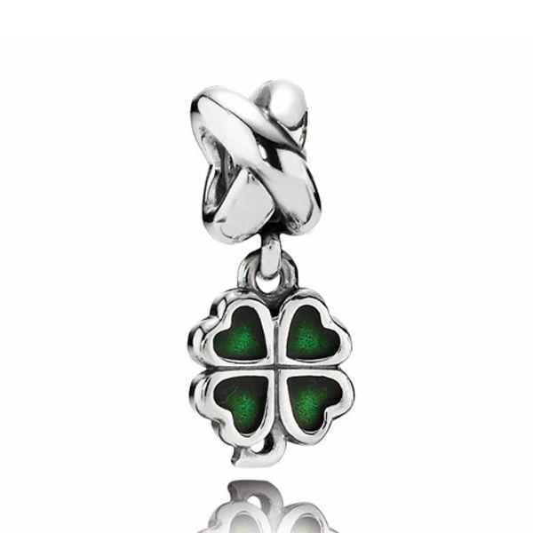 2ddff3219179e Have for Emma birthday Pandora Green Four-Leaf Clover Charm ...
