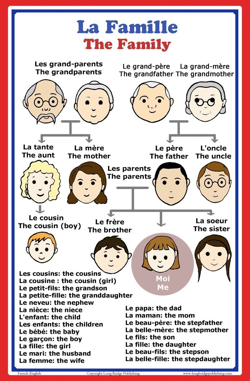 Words In Italian Translated To English: Amazon.com: French Language School Poster: French Words