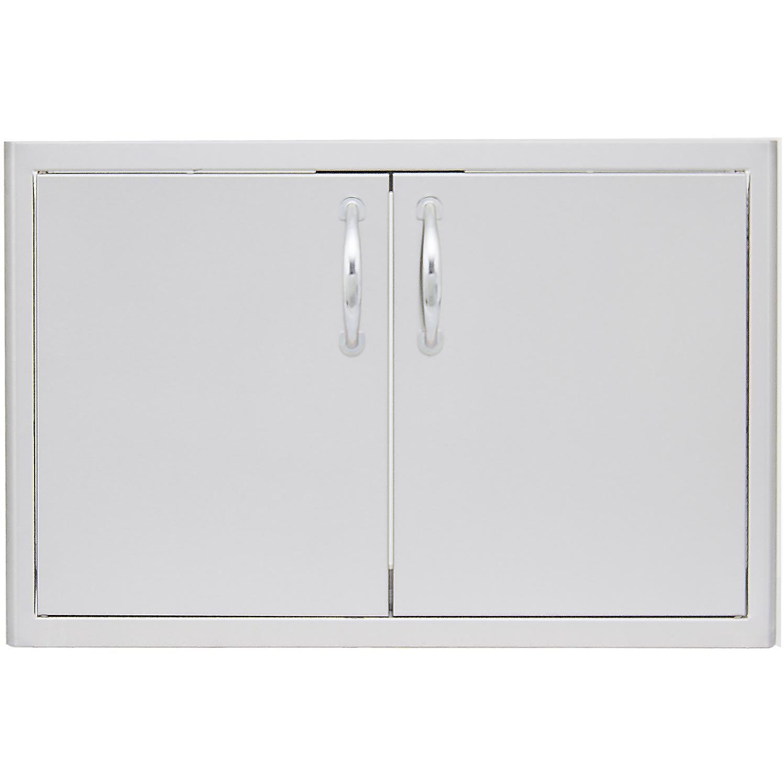 Blaze 40 Inch Double Access Door With Paper Towel Holder BLZ AD40