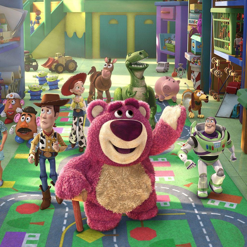 Toy Story 3 토이스토리, 배경화면, 만화