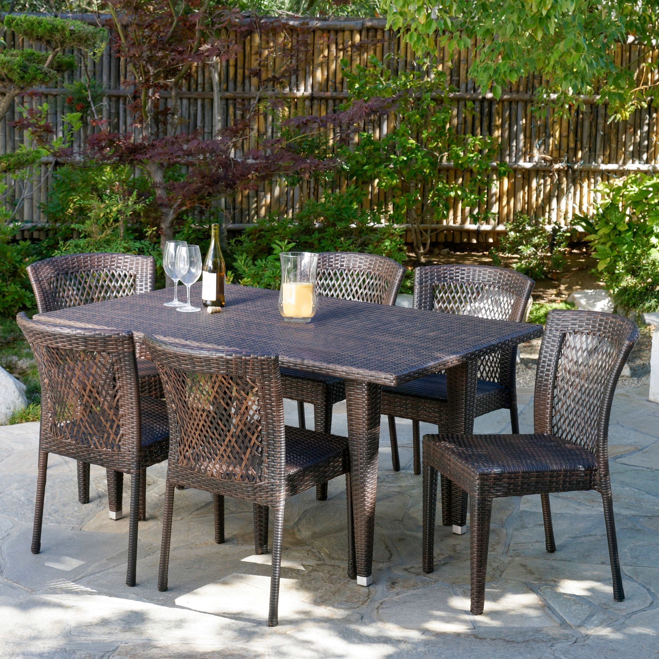 Beachcrest Home Vinalhaven 7 Piece Dining Set & Reviews