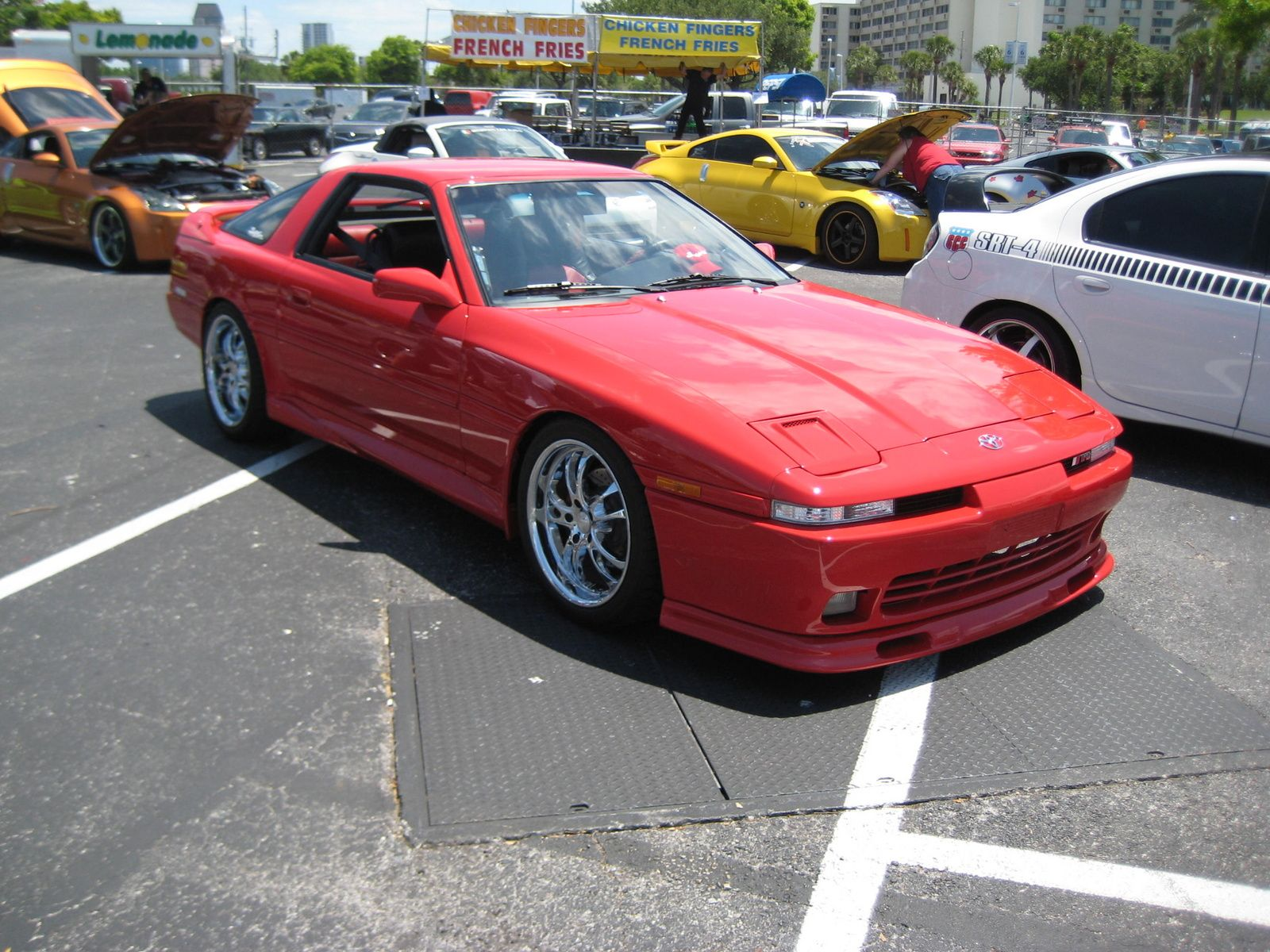 I had one of these --1992 Toyota Supra --red, targa top, twin turbo ...