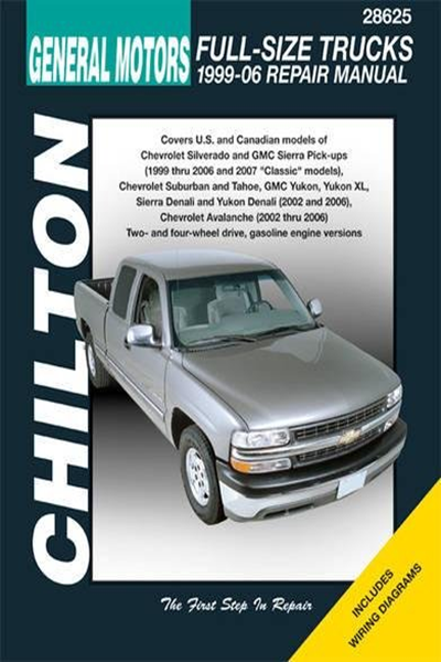 Gm Full Size Trucks 1999 06 Repair Manual Chilton S Total Car Care Repair Manual By Chilton Haynes North America Inc Totaled Car Chevrolet Suburban Repair Manuals