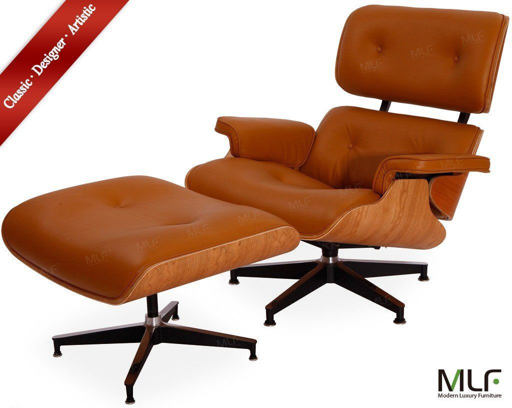 Made of Premium Aniline Leather, Walnut Plywood Veneer and Flexibile Headrest, Lounge Chair Brings you Unique Comfortable and Leisureness. Own it NOW and Enjoy Life!