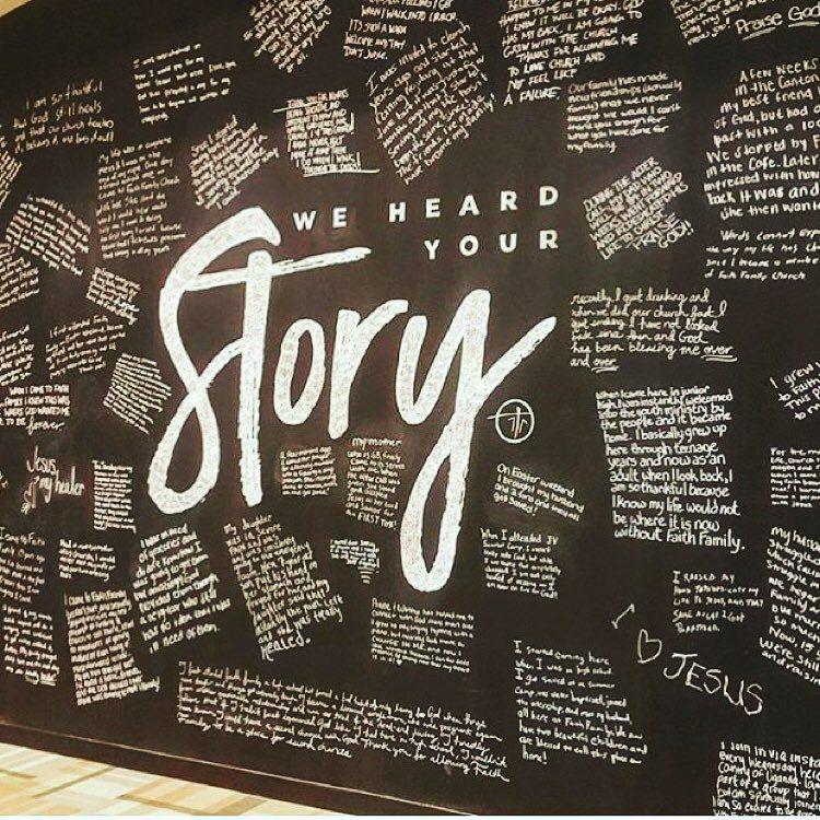 Story wall inspiration from @faithfamilyoh photo cred @michael_a_cameneti_