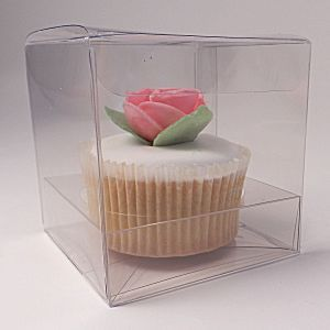 Clear Square Cupcake Boxes 70mm Pack Of 100 For 51
