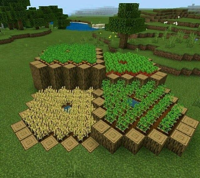 Pin By Vivian Mccully On Minecraft Builds Designs In 2021 Amazing Minecraft Minecraft Farm Minecraft Decorations