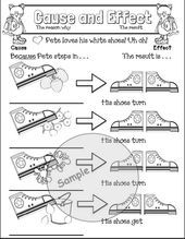 cause and effect activities, cause and effect activities
