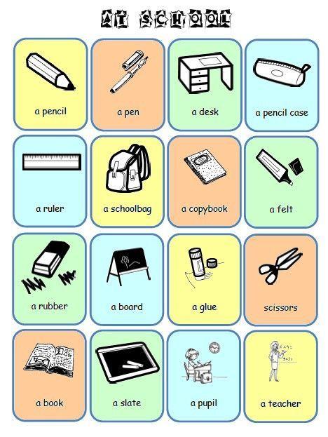 Fabuleux école : références: Flashcards et imagiers anglais au primaire  ML81