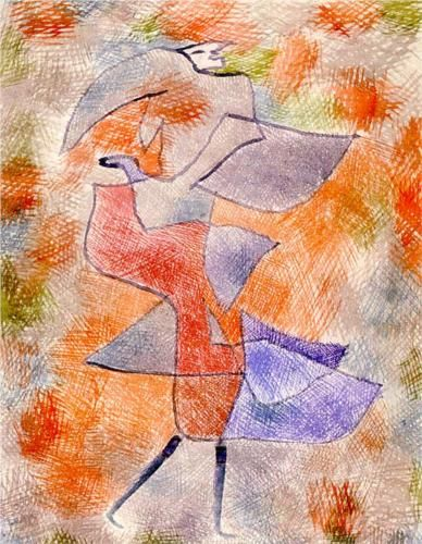 Diana in the Autumn Wind - Paul Klee