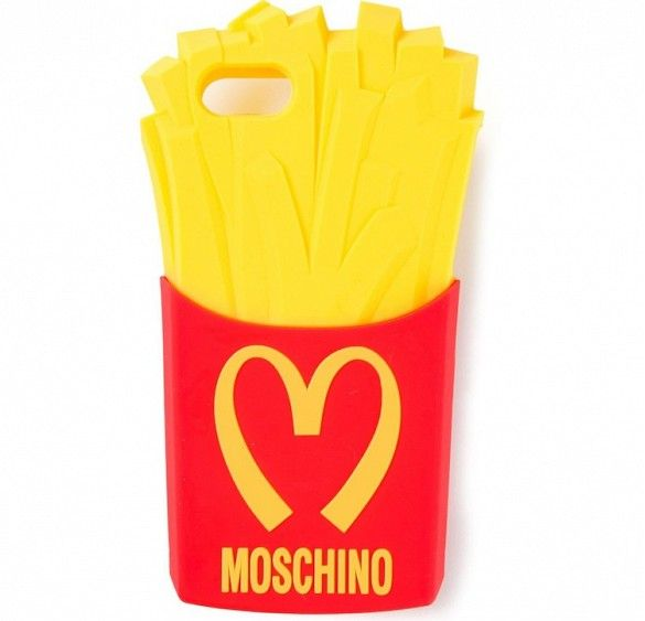 Moschino Fries iPhone 5 Cover