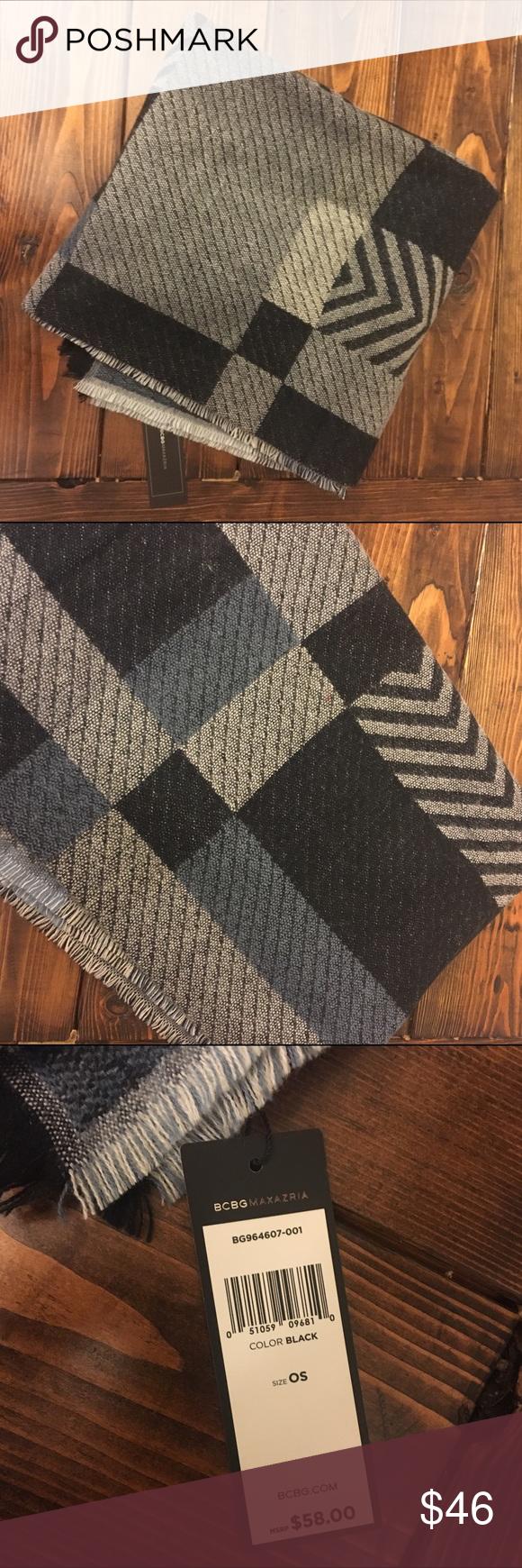 NWT BCBG Max Azria blanket scarf NWT! BCBGMaxAzria Accessories Scarves & Wraps