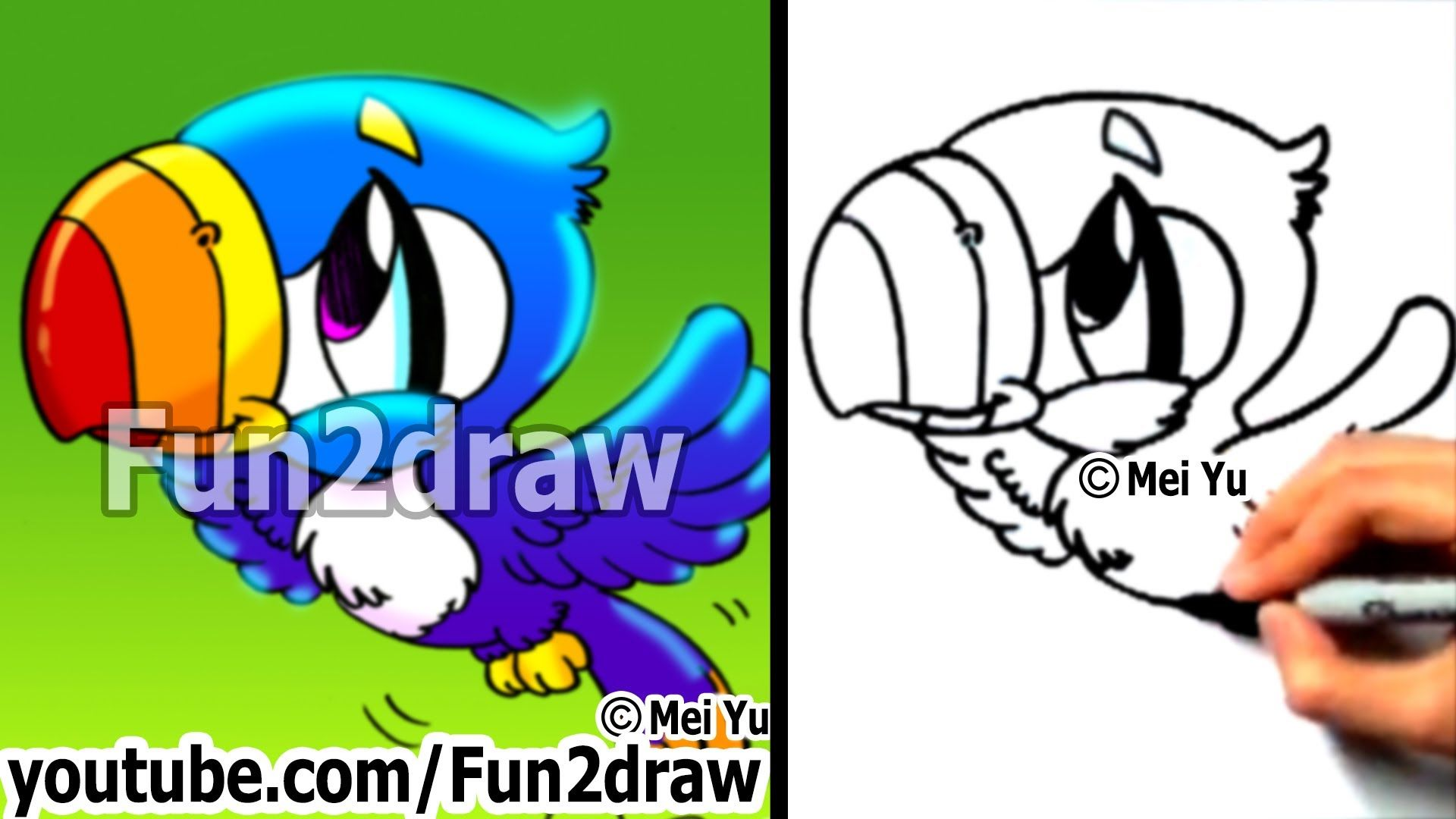 17 Best Images About Fun2draw On Pinterest How To Draw Animals, Easy Things  To Draw