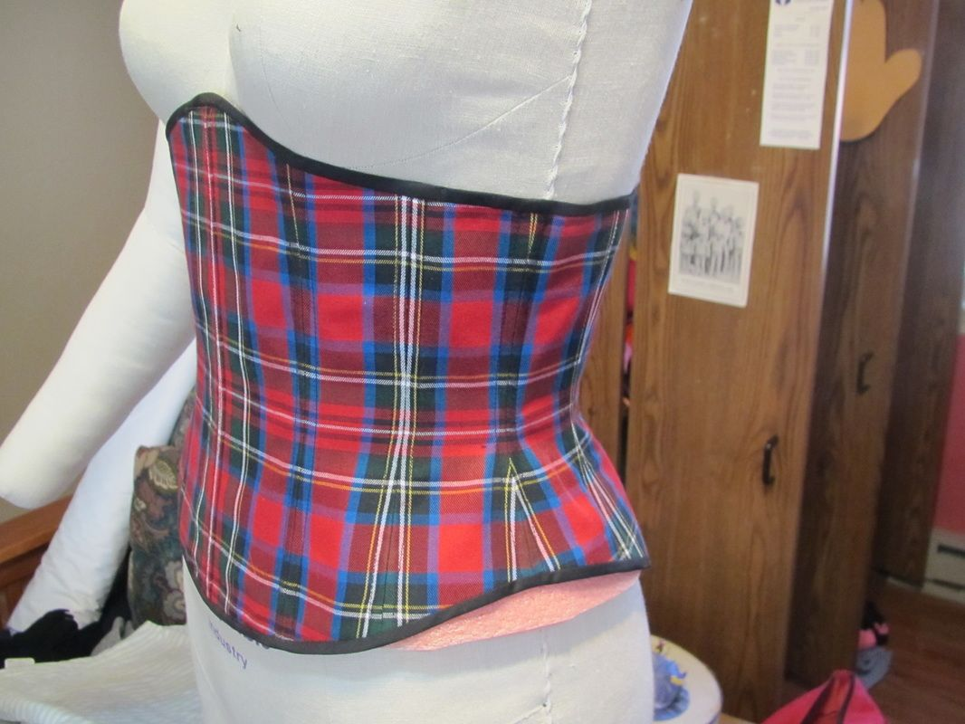 Basic Corset Seams, Boning and Grommets