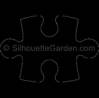 Puzzle Piece Silhouette Puzzle Pieces Silhouette Clip Art Silhouette
