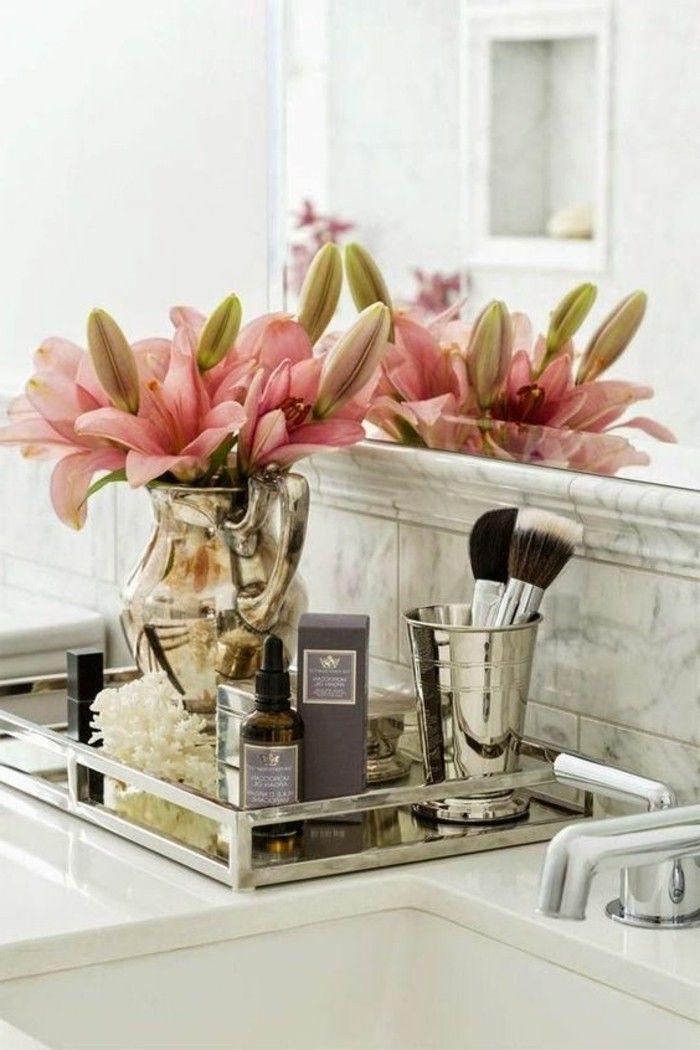 badezimmer deko bader ideen badezimmer in weis accessoires rosa