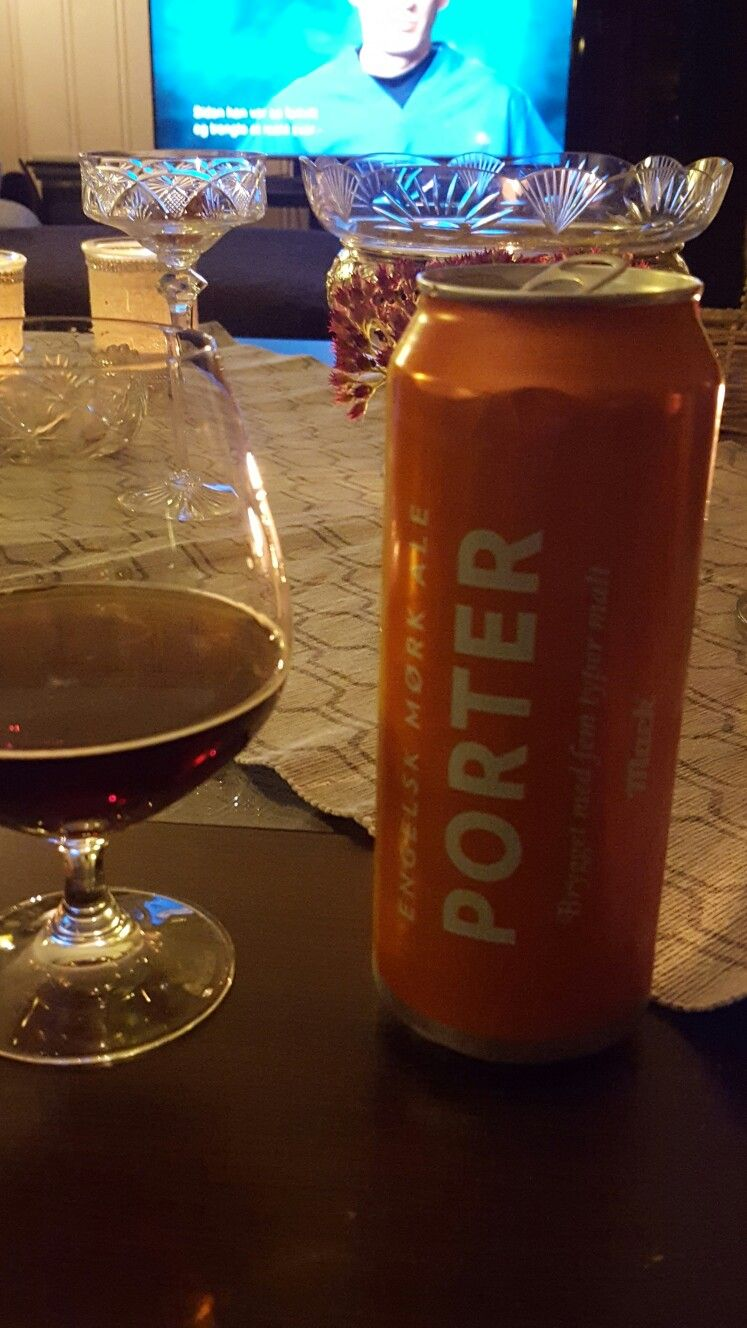 Engelsk mørk porter