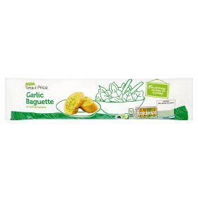 Asda Smartprice Garlic Baguette Online Food Shopping Garlic