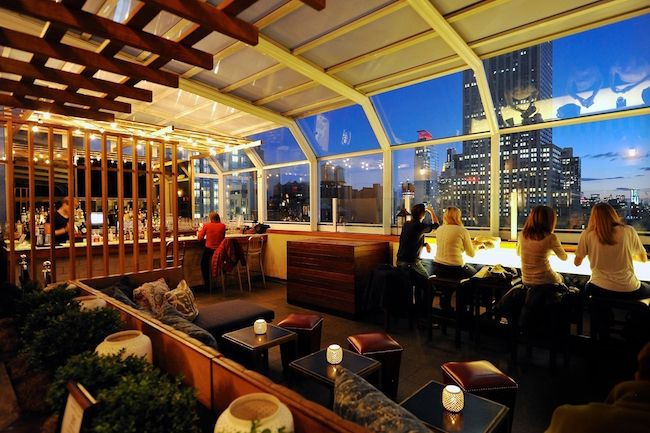 THE BEST ROOFTOP BARS IN NYC SUMMER 2016 Architectural Digest Design