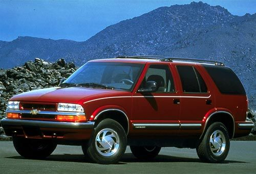1998 Chevy Blazer Mine Is White With Beige Interior And Brown