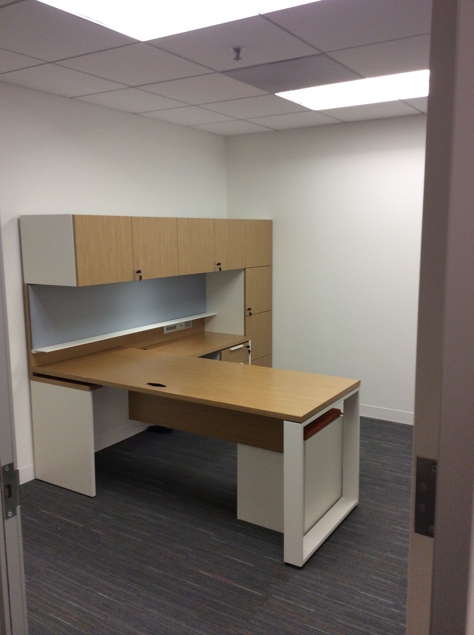 private office with teknion expansion casegoods. | washington, dc