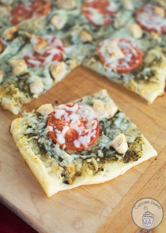 Photo of Chicken Pesto Pizza