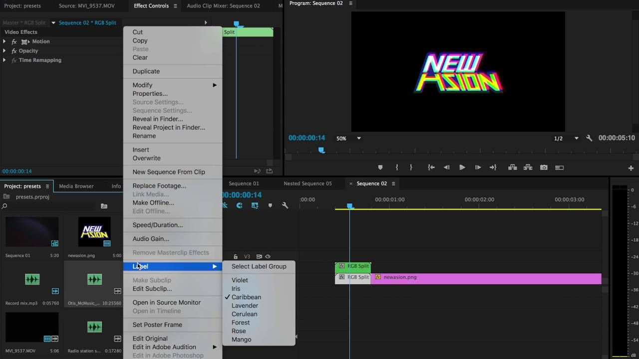 Glitch Logo / Title Preset for Premiere Pro by Chung Dha