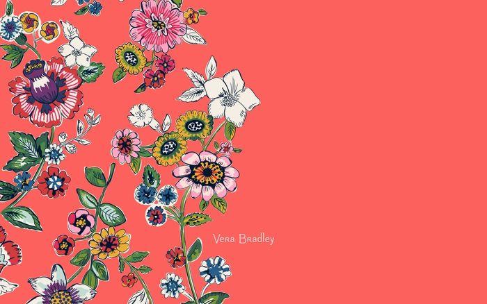 13 Inch Laptop Cute Wallpaper Coral Floral Desktop Wallpaper Download In 2019 Floral