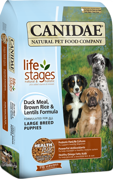 Canidae Large Breed Puppy With Duck Meal And Lentils Large Breed Puppy Food
