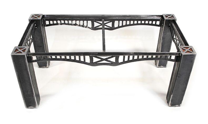 Brandner Design The Nicholson Coffee Table Metal Furniture Coffee Table Coffee Table Size