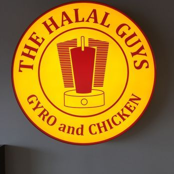 Photo Of The Halal Guys Chamblee Ga United States Big Sign Halal Chamblee Guys
