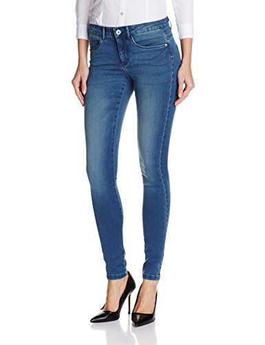 ONLY Damen Skinny Jeanshose onlROYAL REG JEANS PIM504 NOOS, Gr. 38/L30 (Herstellergröße: M), Blau (Medium Blue Denim)