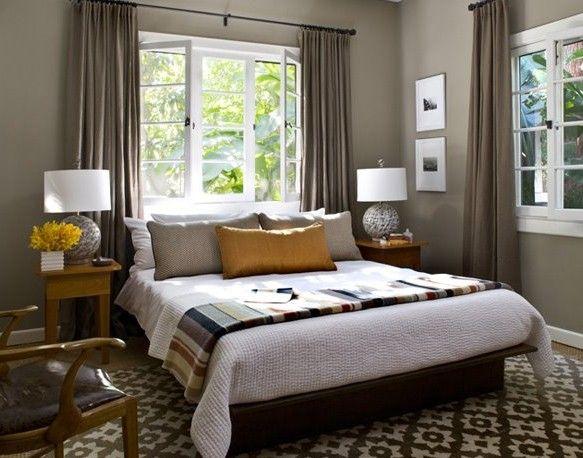 Cama bajo la ventana6 casa ideal pinterest cabecera recamara y camas bajas - Camas sin cabecero ...