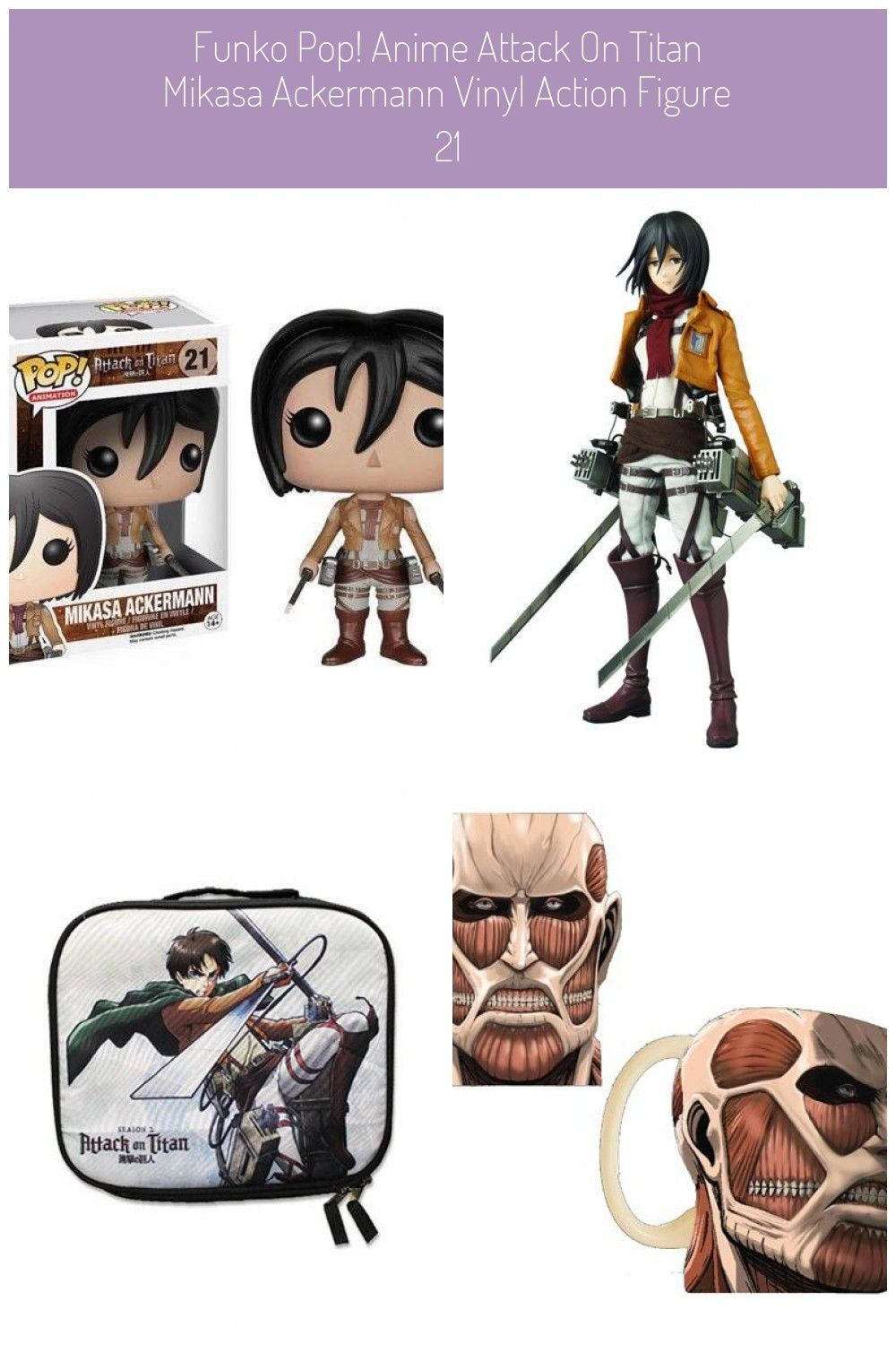 Attack on Titan is one of the biggest anime and manga sensations and its about to get bigger Thats right  the popular series is joining the Pop vinyl family The Attack on...