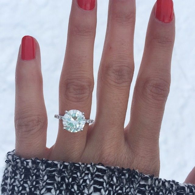 Solitaire with a thin diamond band when its time pinterest solitaire with a thin diamond band huge wedding ringssimple junglespirit Choice Image