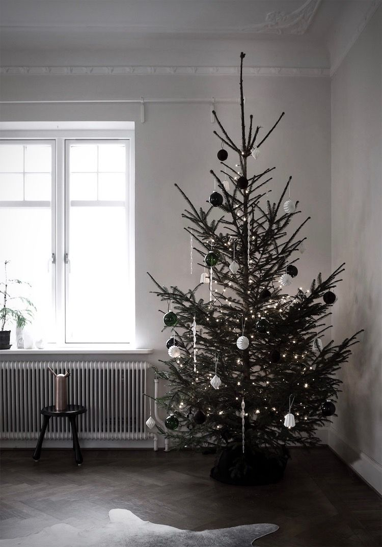 It S That Time Of Year Yaaay In Scandinavia People Source Their Trees In Minimalist Christmas Tree Traditional Christmas Tree Christmas Tree Decorations