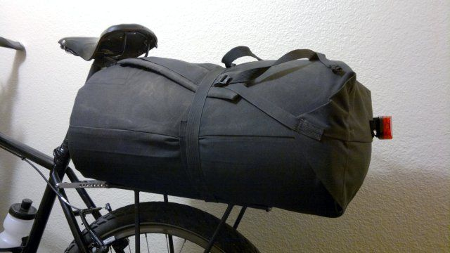 Diy Bike Rack Bag