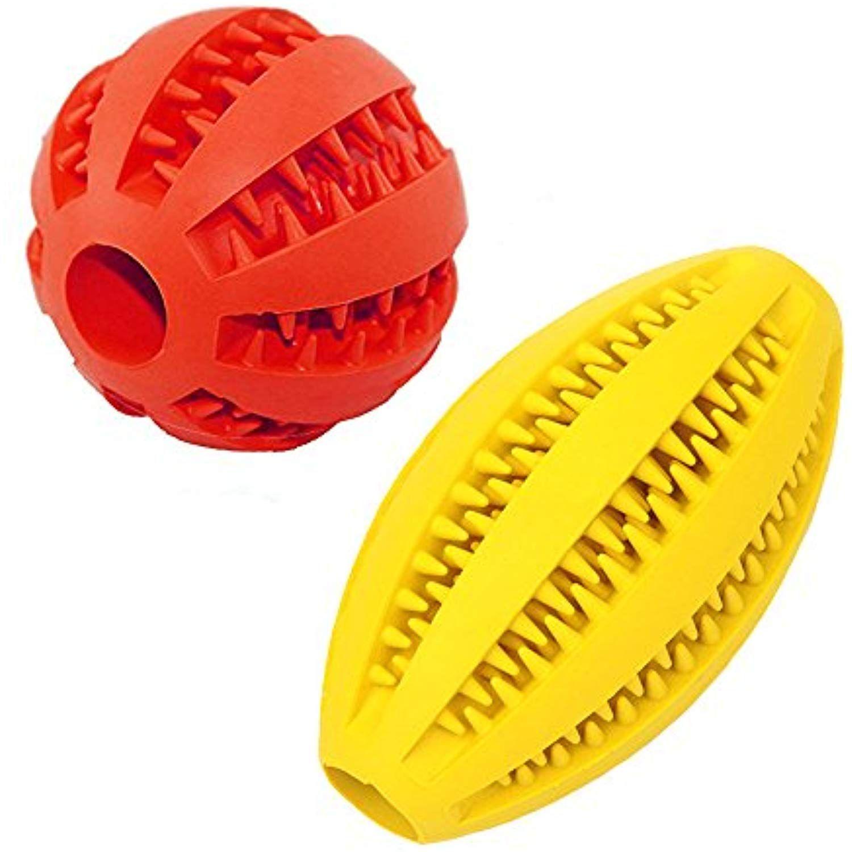 Dog Balls Soft Rubber Dog Toys Balls Dog Puzzle Toys
