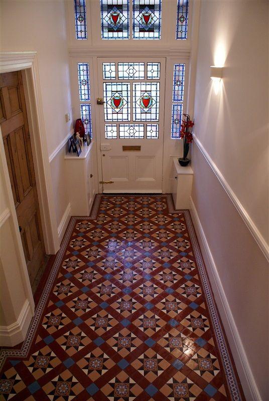 Victorian Floor Tiles Blenheim   church   Tiles, Flooring, Tiled hallway