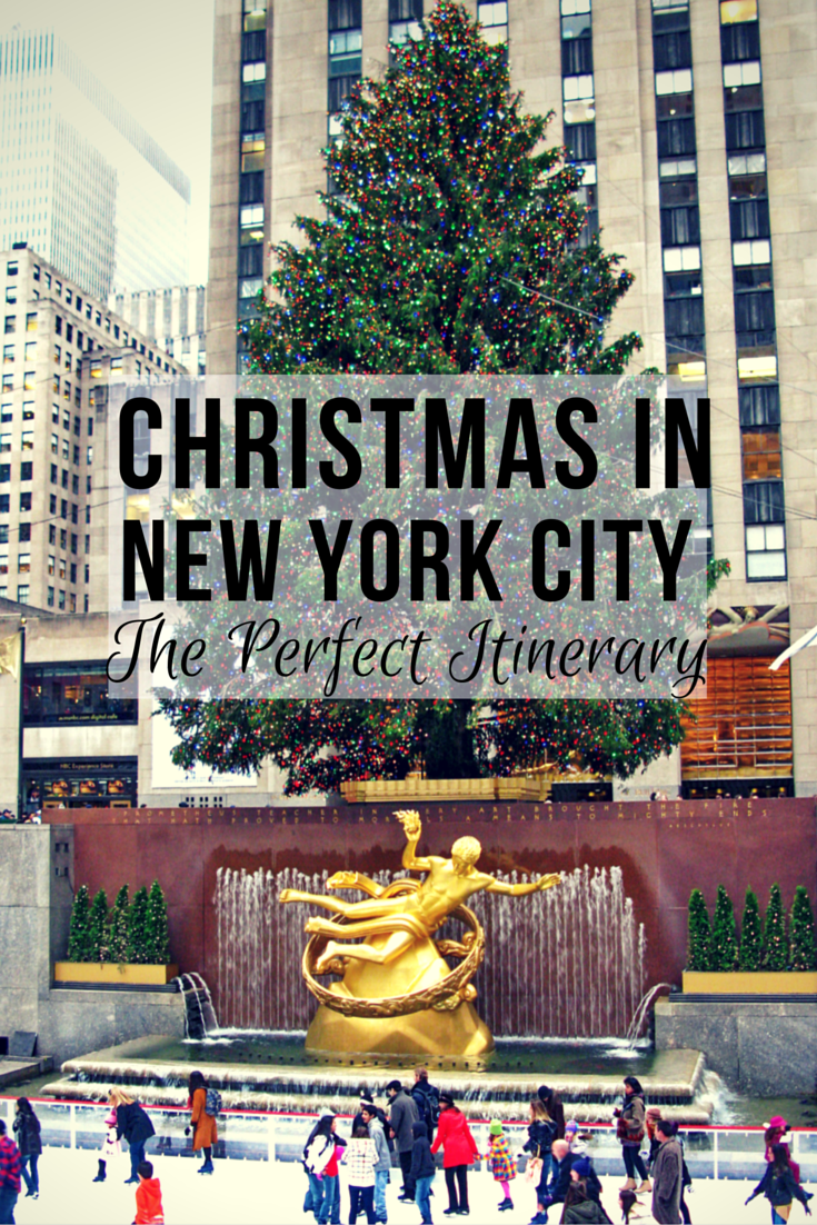 The Perfect New York City Christmas Itinerary | Reisen, Reise und ...