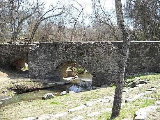 Mission Espada Aqueduct San Antonio Texas A Dam